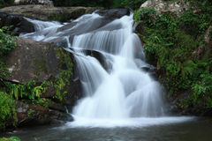 Natural Scenic. The Natural waterfalls in Thailand Stock Photos