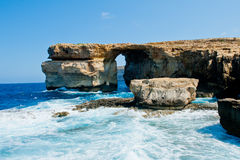 Natural sea arch #2 Royalty Free Stock Image