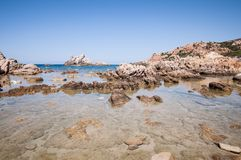 Natural sea landscape in Sardinia Stock Photo