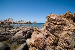 Natural sea landscape in Sardinia Royalty Free Stock Image