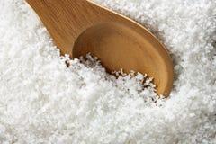 Natural Sea Salt. Fleur de Sel Royalty Free Stock Image