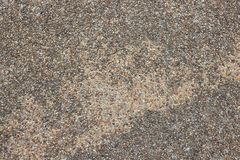 Natural sea sand texture, Old rough texture surface of exposed. Aggregate finish, Ground stone washed floor, made of small sand stone royalty free stock photography