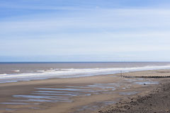 Natural seaside environment, Withernsea UK Stock Photos