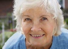 Natural senior woman Royalty Free Stock Photography