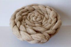 Natural Sheep Wool Royalty Free Stock Image