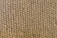 Natural sisal matting surface. Background and texture concept - natural sisal matting surface Royalty Free Stock Photo