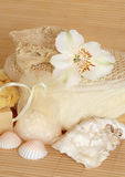 Natural Skincare Products Stock Photo