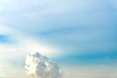 Natural sky composition. Element of design. Stock Image