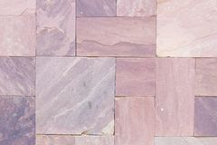 Natural slate tile paving in the sape of rectangle. stock photos