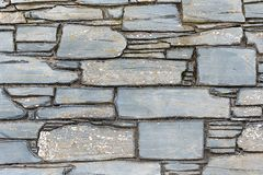 Natural slate wall stock photography