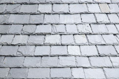 Natural slates roof Stock Photos