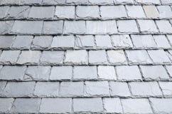 Natural slates roof Stock Photos