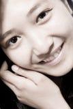 Natural Smile royalty free stock photo