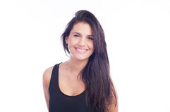 Natural smile - woman Stock Image