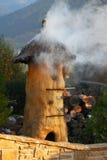 The natural smokehouse Royalty Free Stock Image