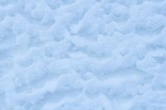 Natural snow background Stock Images