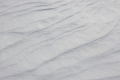 Natural snow background. Stock Photo