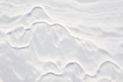 Natural snow background. Royalty Free Stock Photography