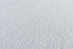 Natural snow background in the winter Stock Image