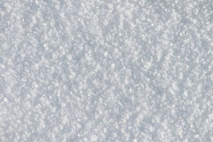 Natural snow background in the winter Royalty Free Stock Photography