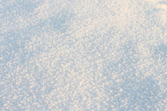 Natural snow background in the winter Stock Photo