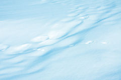 Natural snowy background stock photo