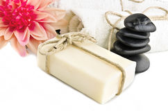 Natural soap Royalty Free Stock Photos
