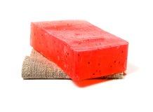 Natural soap bar Royalty Free Stock Photography