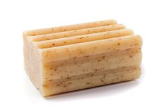Natural soap bar Stock Photography