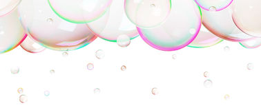 Natural  soap bubbles Royalty Free Stock Photo