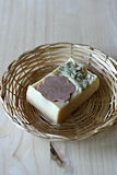 Natural soap Royalty Free Stock Photo