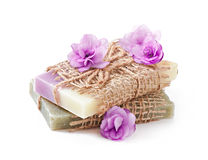 Natural soap Royalty Free Stock Photography