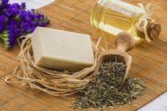 Natural soap stock photos