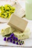 Natural soap Stock Image