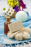 Natural soap Stock Photography
