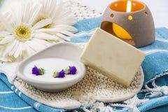 Natural soap Royalty Free Stock Image