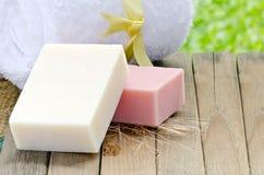 Natural soap spa Royalty Free Stock Image