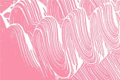 Natural soap texture. Admirable bright pink foam trace background. Artistic actual soap suds. Cleanliness, cleanness, purity concept. Vector illustration Royalty Free Stock Images
