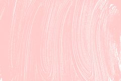 Natural soap texture. Adorable millenial pink foam trace background. Artistic indelible soap suds. Cleanliness, cleanness, purity concept. Vector illustration stock photos