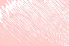 Natural soap texture. Adorable millenial pink foam trace background. Artistic mind-blowing soap suds. Cleanliness, cleanness, purity concept. Vector royalty free illustration
