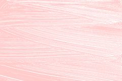 Natural soap texture. Adorable millenial pink foam trace background. Artistic stylish soap suds. Cleanliness, cleanness, purity concept. Vector illustration Stock Image