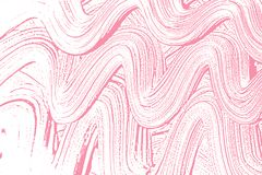 Natural soap texture. Alluring bright pink foam trace background. Artistic extra soap suds. Cleanliness, cleanness, purity concept. Vector illustration Stock Photo
