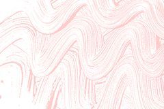Natural soap texture. Alluring millenial pink foam trace background. Artistic fair soap suds. Cleanliness, cleanness, purity concept. Vector illustration Royalty Free Stock Image