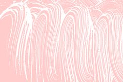 Natural soap texture. Actual millenial pink foam trace background. Artistic symmetrical soap suds. Cleanliness, cleanness, purity concept. Vector illustration stock images