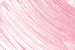 Natural soap texture. Alluring bright pink foam trace background. Artistic bold soap suds. Cleanliness, cleanness, purity concept. Vector illustration Royalty Free Stock Image