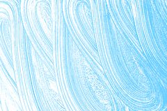 Natural soap texture. Alluring light blue foam trace background. Artistic appealing soap suds. Cleanliness, cleanness, purity concept. Vector illustration Royalty Free Stock Images