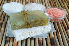 Natural soaps Stock Photos