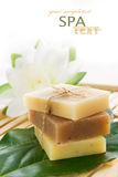 Natural soaps Royalty Free Stock Image