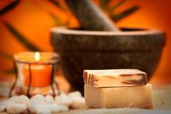 Natural soaps Royalty Free Stock Photo