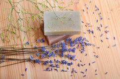 Natural soaps for bodycare Royalty Free Stock Photos